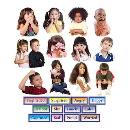 Little Folk Visuals Emotions Precut Flannel Board Set, Multicolor, Grades Pre-K - 5