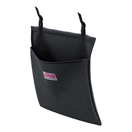 "Suncast Commercial Amenity Housekeeping Bag, 19-9/16""H x 19-3/16""W, Black"