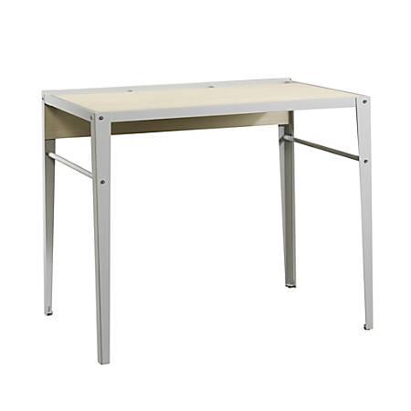 Sauder® Square1 Computer Desk, Gray/Urban Ash