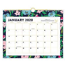 Emily Ley Simplified Monthly Wall Calendar