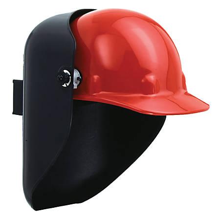 Protective Cap Welding Helmet Shells, #10, Black, 2 in x 4 1/4 in