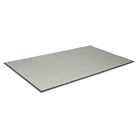 Crown Jasper Indoor/Outdoor Scraper Mat, 3' x 5', Gray