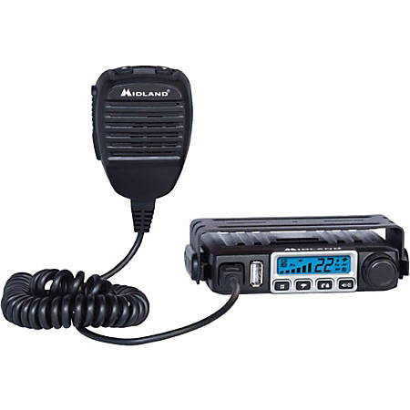 Midland MXT115 MicroMobile Two-Way Radio - For Walkie-talkie with NOAA All Hazard, Weather Disaster - UHF - 15 Weather - 15 W