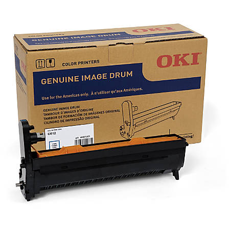 Oki 30K Cyan Image Drum for C612 - 30000 - 1 Each