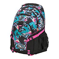 High Sierra Loop Backpack Tropic NightsBlackFlamingo