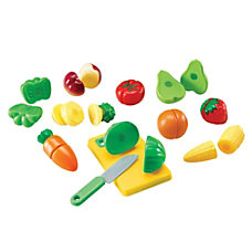 Learning Resources Pretend Play Sliceable Fruits