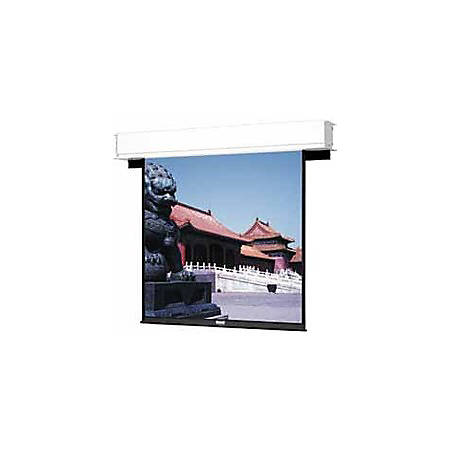 """Da-Lite Advantage Deluxe Electrol 130"""" Electric Projection Screen - Yes - 16:10 - High Contrast Matte White - 69"""" x 110"""" - Ceiling Mount"""