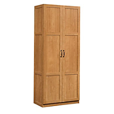 Sauder Select Storage Cabinet Highland Oak