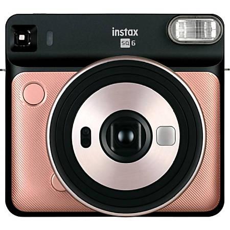 Fujifilm Instax SQUARE SQ6 Instant Camera - Instant Film - Blush Gold