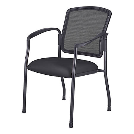 WorkPro® Spectrum Guest Chair With Arms, Black