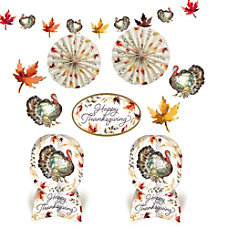 Amscan Paper Classic Thanksgiving Room Decorating