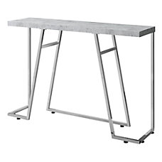Monarch Specialties Metal Hall Console Accent