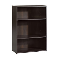 Sauder Beginnings Bookcase 3 Shelf Cinnamon