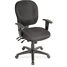 Lorell Multifunction Mid Back Task Chair