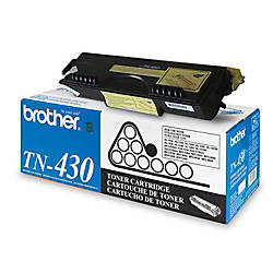 Brother TN 430 Black Toner Cartridge