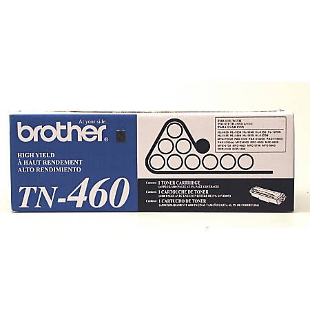 Brother® TN-460 High-Yield Black Toner Cartridge