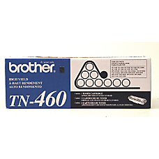 Brother TN 460 High Yield Black