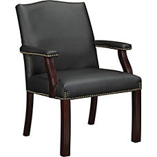 Lorell Berkeley Traditional Bonded Leather Guest