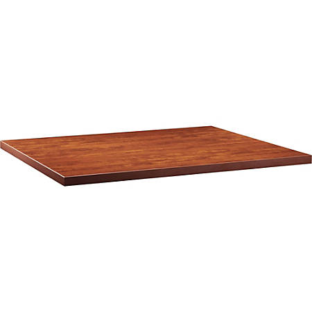 """Lorell® Prominence Conference Rectangle Table Top, 48""""W x 60""""L, Cherry"""