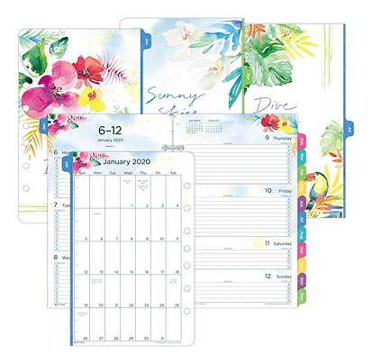Daytimer Calendar December 2020 Sizes Day Timer Kathy Davis Appointment BookPlanner Refill Weekly Desk