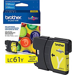 Brother LC61Y Original Ink Cartridge