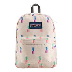 JanSport Superbreak Backpack Pineapple Punch