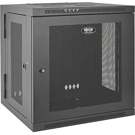 "Tripp Lite 12U Wall Mount Rack Enclosure Server Cabinet Hinged Doors/Sides - 19"" 12U , Wall Mounted"