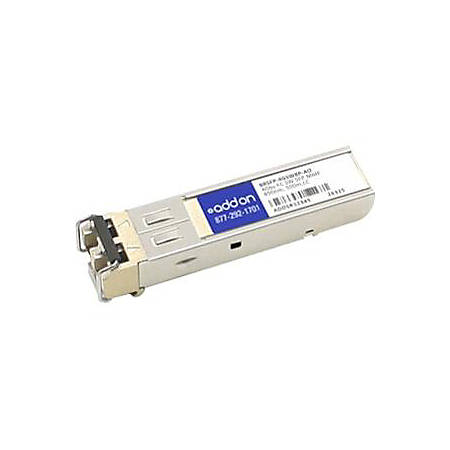 AddOn Brocade BRSFP-4GSW8P Compatible TAA Compliant 4Gbs Fibre Channel SW SFP Transceiver (MMF, 850nm, 500m, LC)