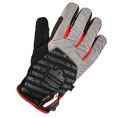 Ergodyne ProFlex 814CR6 Thermal Utility Gloves, 2X, Black