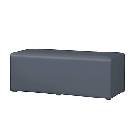 """Marco Rectangle Bench, 18""""H, Graphite"""