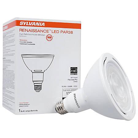 Sylvania LEDvance Renaissance PAR38 1350 Lumens LED Light Bulbs, 16.5 Watt, 3500 Kelvin/Soft White, Case Of 6 Bulbs
