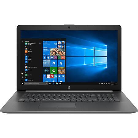 "HP 17-ca0000 17-ca0056nr 17.3"" Notebook - 1600 x 900 - A-Series A9-9425 - 8 GB RAM - 1 TB HDD - Chalkboard Gray - Windows 10 Home 64-bit - AMD Radeon R5 - BrightView - Bluetooth"