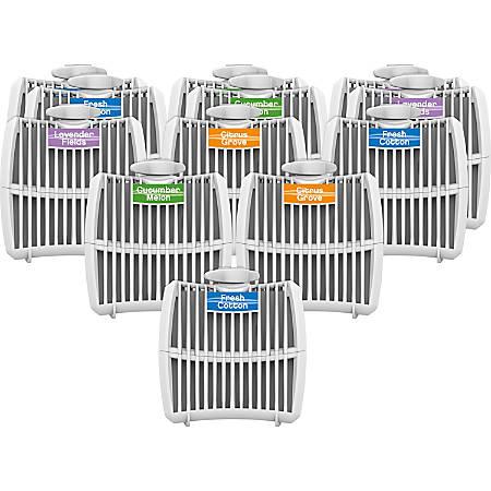 Genuine Joe Air Refreshener Refill Cartridge - 12 / Carton - Long Lasting, Odor Neutralizer