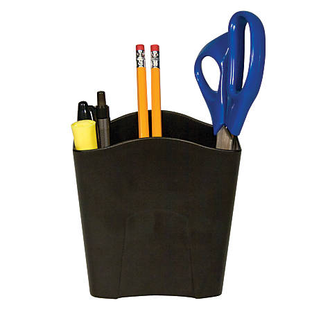 Office Depot® Brand Jumbo Pencil Holder, Black