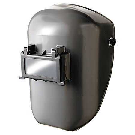 WELDING HELMET SHELL GRAY W/4001 MOUNTING CUP