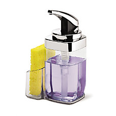 simplehuman Square Push Soap Pump With