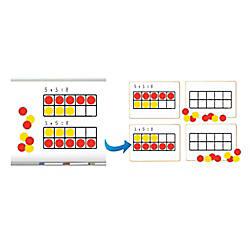 Dowling Magnets Ten Frames Magnet Math