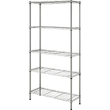Lorell Light Duty Wire Shelving 5