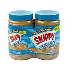 Skippy Creamy Peanut Butter 48 Oz