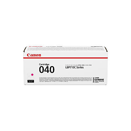 Canon 040 - Magenta - original - toner cartridge - for i-SENSYS LBP710Cx, LBP712Cx