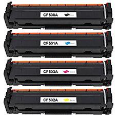 HP 202A HP CF500A CF501A CF502A