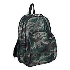 Eastsport Sport Mesh Backpack Army Camo