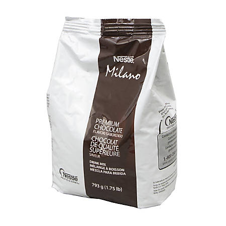 Nestle Milano Premium Chocolate Mix, 28 Oz, Pack Of 4 Bags