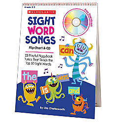 Flip Charts Sight Word Songs Flip