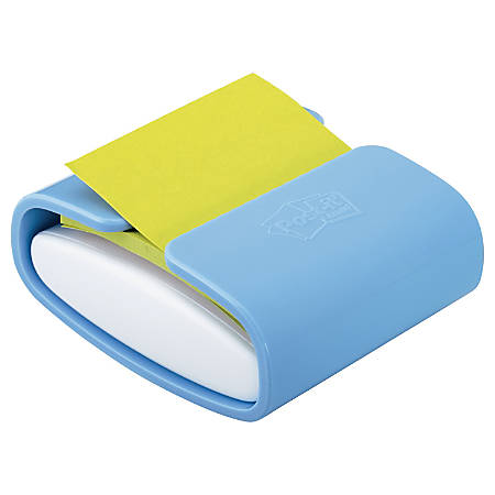 Post-it® Pop-up Note Color Dispenser, Periwinkle