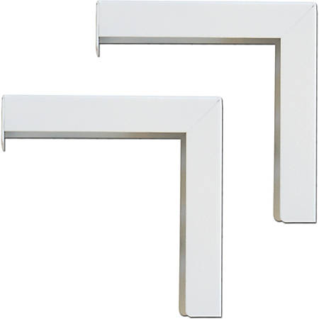 "Elite Screens? 6"" Wall Hanging L-Brackets - for Manual/Spectrum/VMAX2 series, ZVMAXLB6-W"""