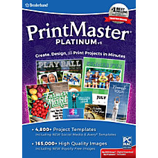 Encore PrintMaster Platinum v8 For PC