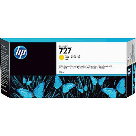 HP 727 High-Yield Yellow Ink Cartridge (F9J78A)