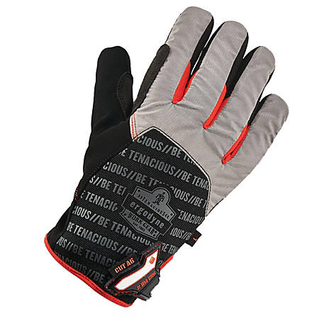 Ergodyne ProFlex 814CR6 Thermal Utility Gloves, Medium, Black