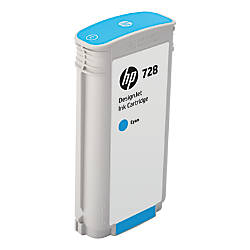 HP 728 130 mL Cyan Ink